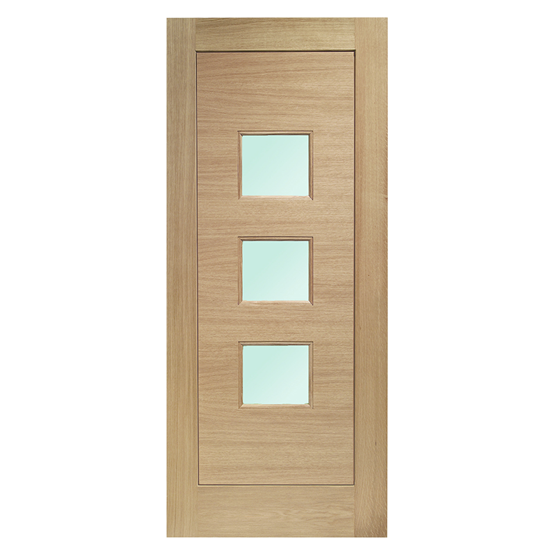 GLAZED EXTERNAL OAK DOOR